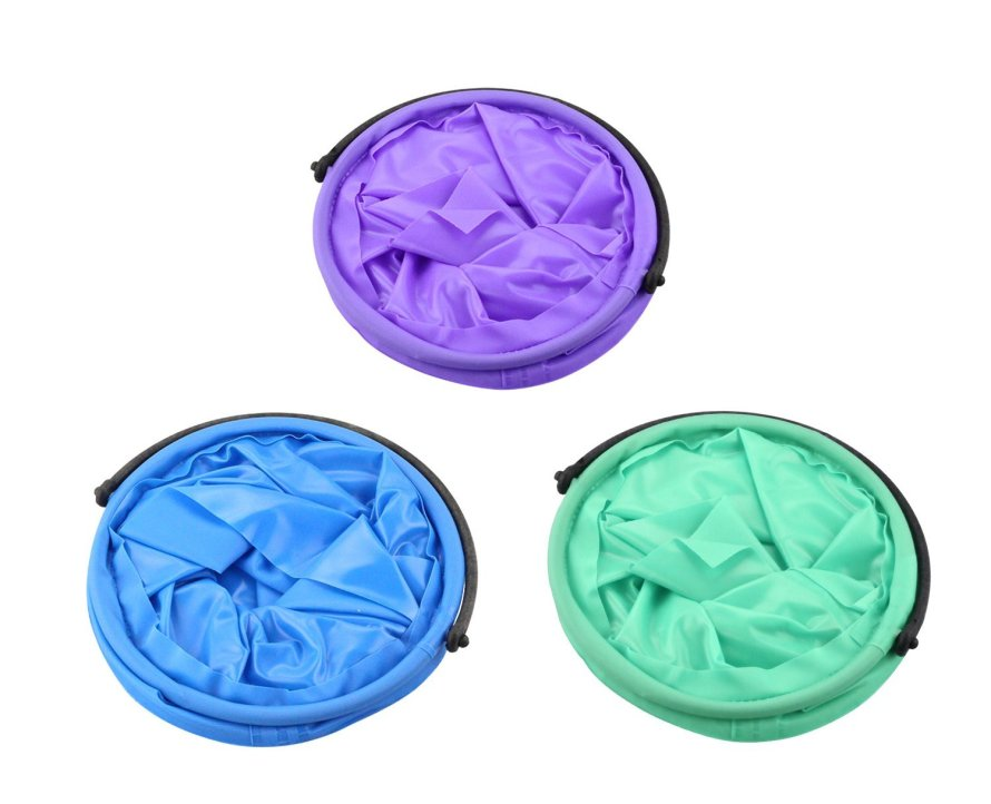 BeeChamp collapsible water containers and brush cleaners set