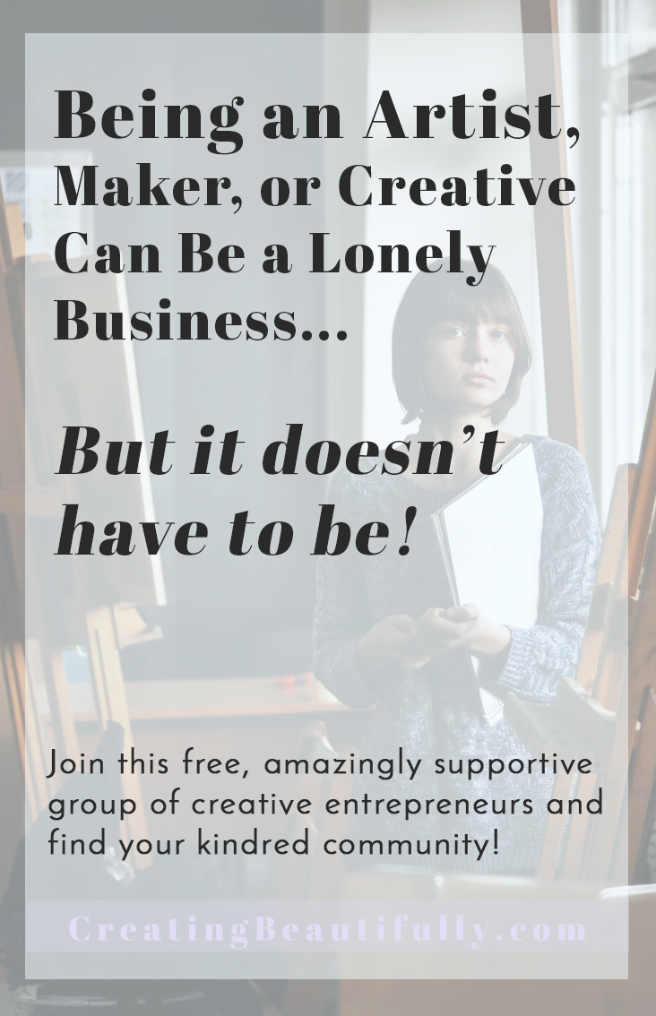 Being an Artist or Creative Entrepreneur Doesn't Have to be a Lonely Business