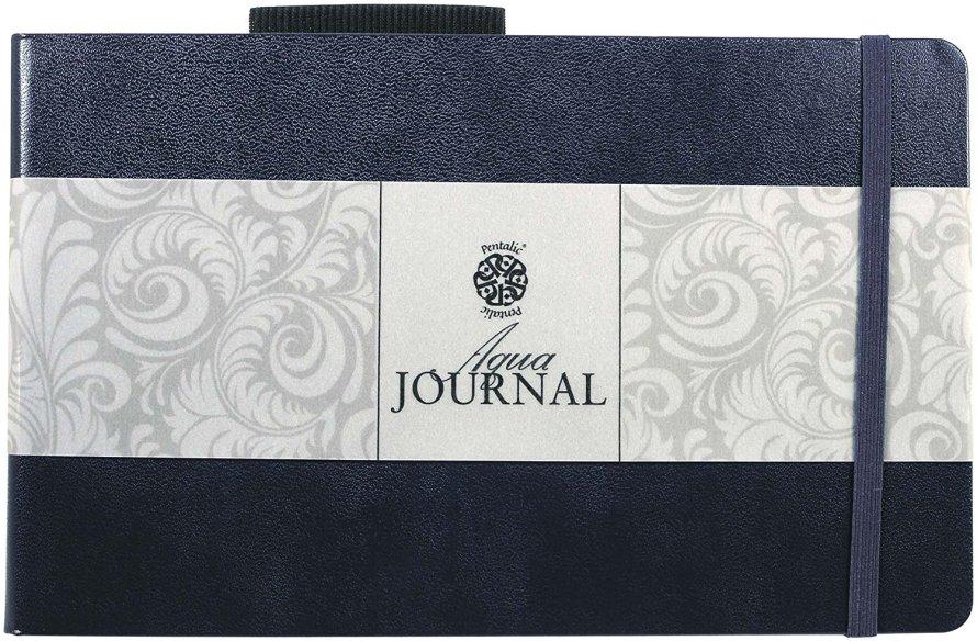 "Pentalic 5"" x 8"" 140 lb Aqua Journal"