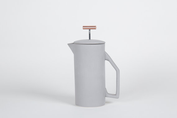 This is the French press (from Yield Design Co.) that made me swoon!