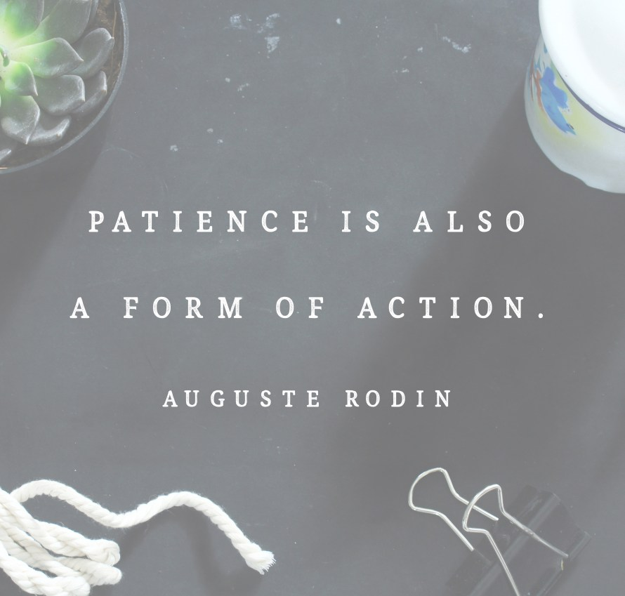 Auguste Rodin quote | posivite quotes for creatives on CreatingBeautifully.com