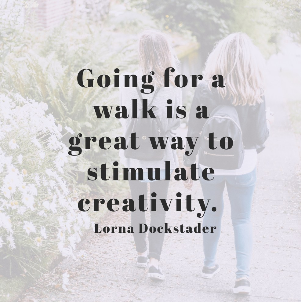 Lorna Dockstader quote on creativity | CreatingBeautifully.com