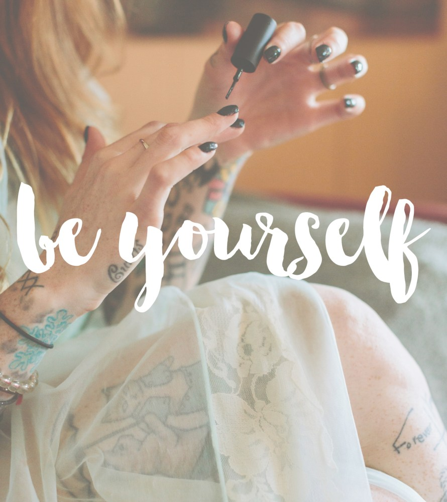 be yourself | posivite quotes for creatives on CreatingBeautifully.com