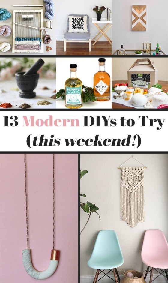13 Modern DIYs to Try