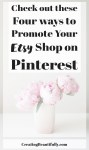 I thought I knew all about how to Promote Your Etsy Shop on Pinterest, but #4 was new to me!