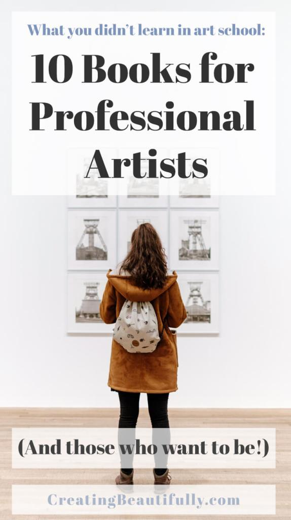 10 Books for Professional Artists (and those who want to be!)