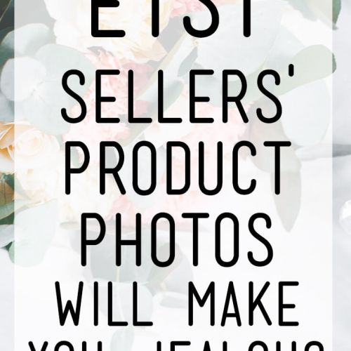 These 15 Etsy Sellers' Product Photos Will Make You Jealous (and then inspire you!) Check them out and learn how to step up your own Etsy product photography.