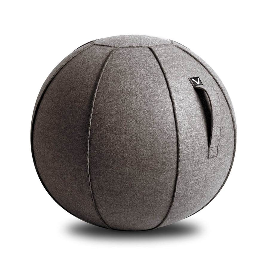 This sitting ball is stylish and would look great in any home office. Plus the added benefits of activating the core muscles! See more gifts for bosses in this fun gift guide for entrepreneurs at www.CreatingBeautifully.com