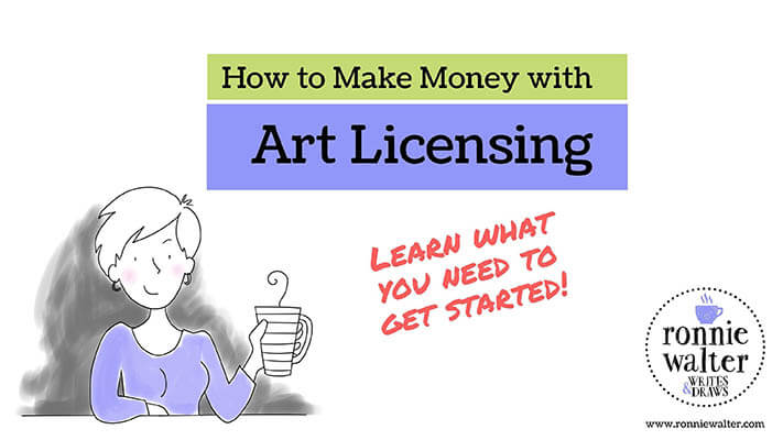 20+ Creative Business Classes You Can Take On Skillshare: How to Make Money with Art Licensing