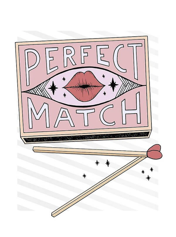 "Selling Art Passively on RedBubble: Meet Barlena. ""Perfect Match"" by Barlena on RedBubble."