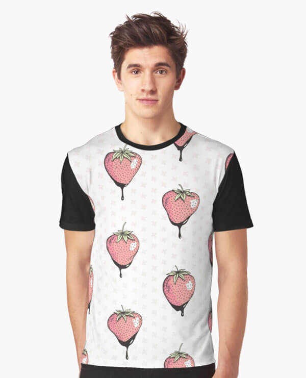 "Selling Art Passively on RedBubble: Meet Barlena. ""Strawberry Heaven"" by Barlena on RedBubble."