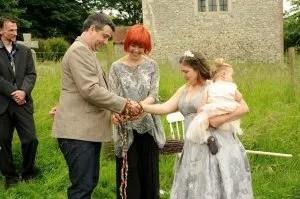 handfasting, anna guy, wedding, ceremony