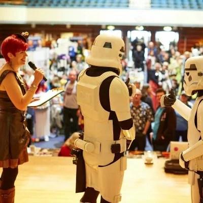 A Star Wars Stormtrooper Wedding Ceremony