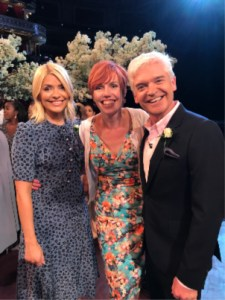 Claire Bradford celebrant Phillip Schofield Holly Willoughby This Morning wedding