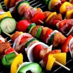 summer wedding barbecue bbq