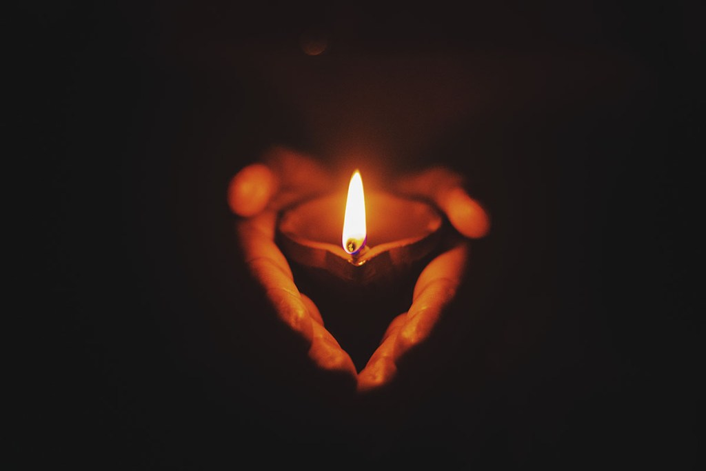 Light a candle when you can't attend a funeral ~ Sussex celebrant Claire Bradford of Creating Ceremony