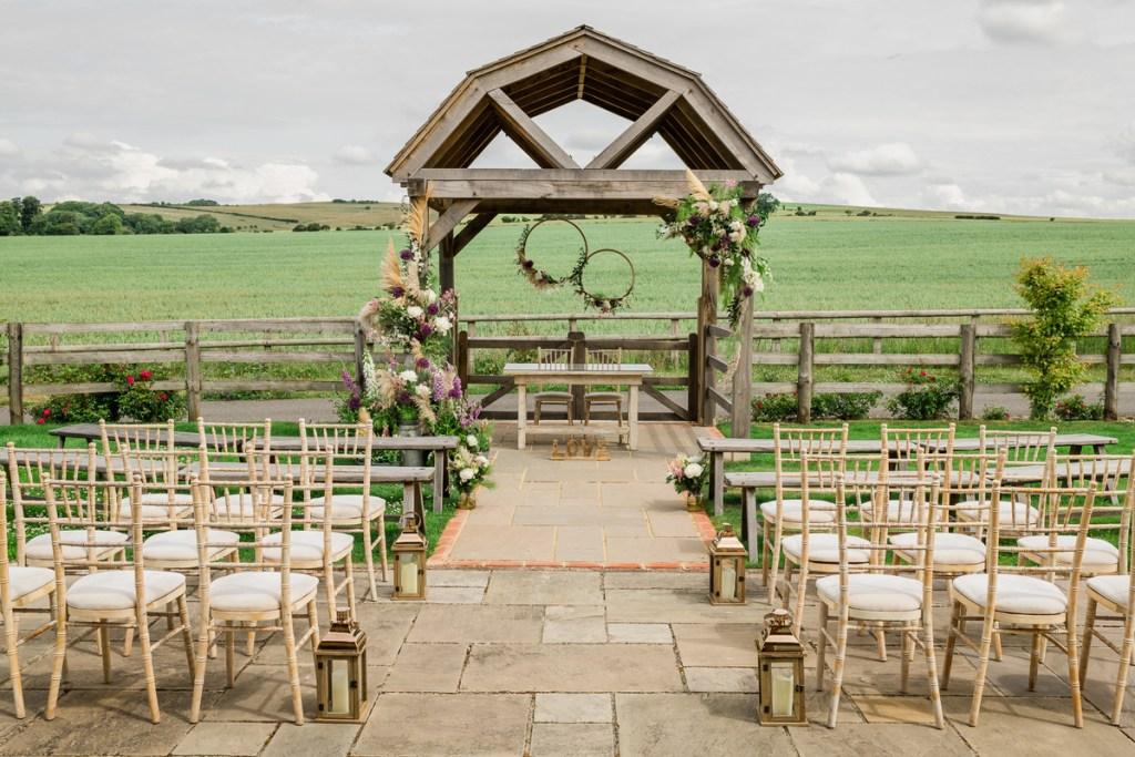 Long Furlong Barn: 10 awesome wedding venues in and around Worthing ~ Sussex celebrant Claire Bradford of Creating Ceremony