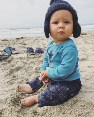 Isaiah 9 Months Beach 1