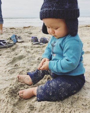 Isaiah 9 Months Beach 2