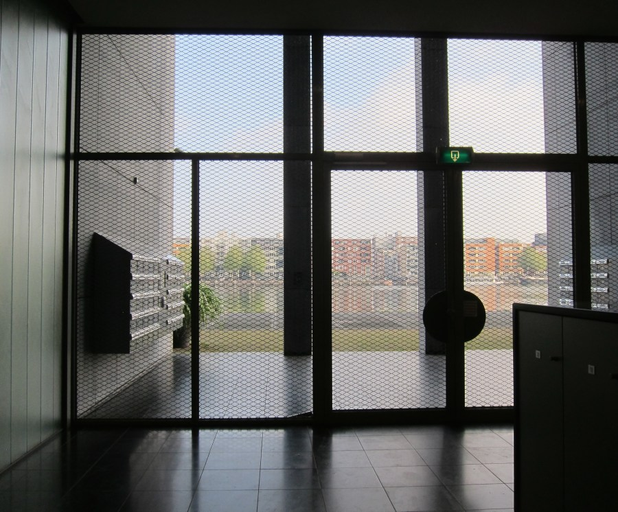 Amsterdam apartment entrance (from inside)