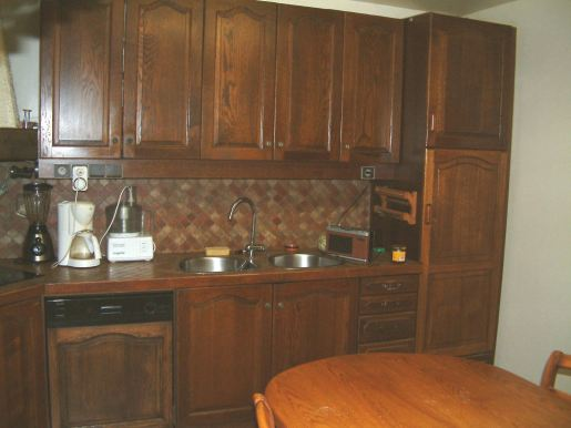 Before: French kitchen