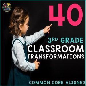 40 third grade classroom transformations