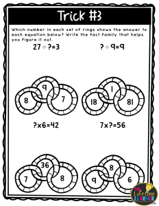 magician classroom transformation multiplication division
