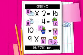 logic puzzles pink