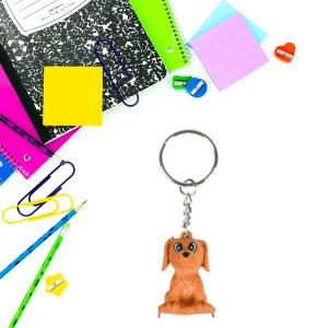 dog keychain