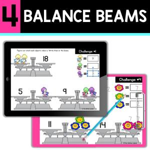 back to school resources balance beams