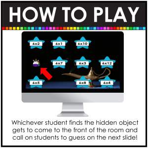 how to play virtual hide and seek directions