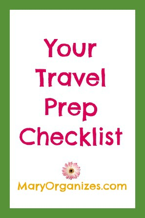Be Prepared To Travel