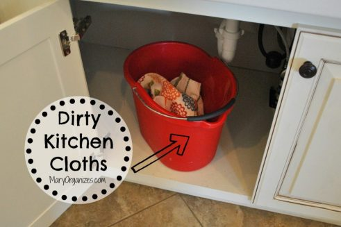 Dirty Kitchen Cloths