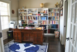 Home Office Organization: Before Pictures