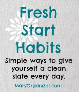 Fresh Start Habits