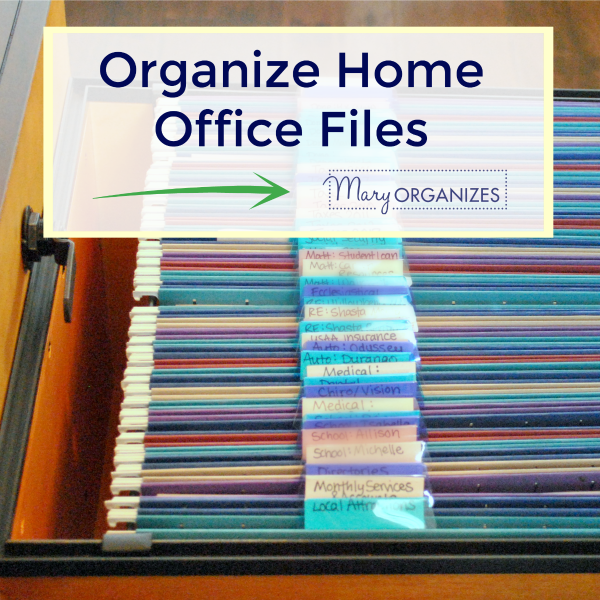 Organize Home Office Files (Paper Management!)