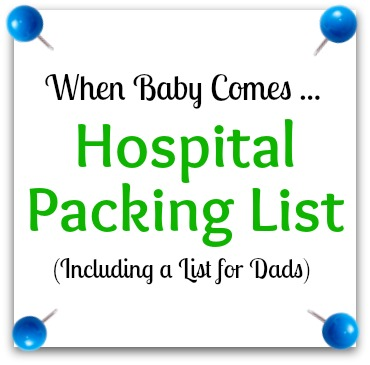 C-Section Hospital Bag Packing List