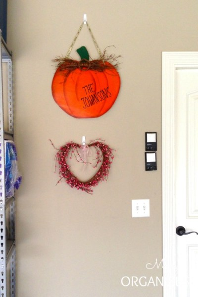 Celebrate different seasons all year round in your garage