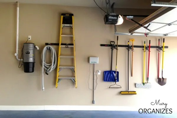 More easy and practical garage organization