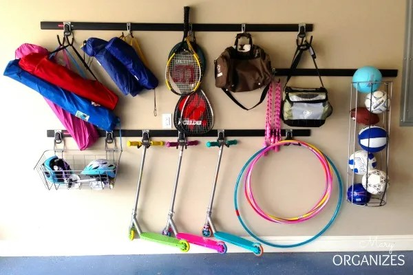 Organize Sports and Recreation Equipment for Easy Access