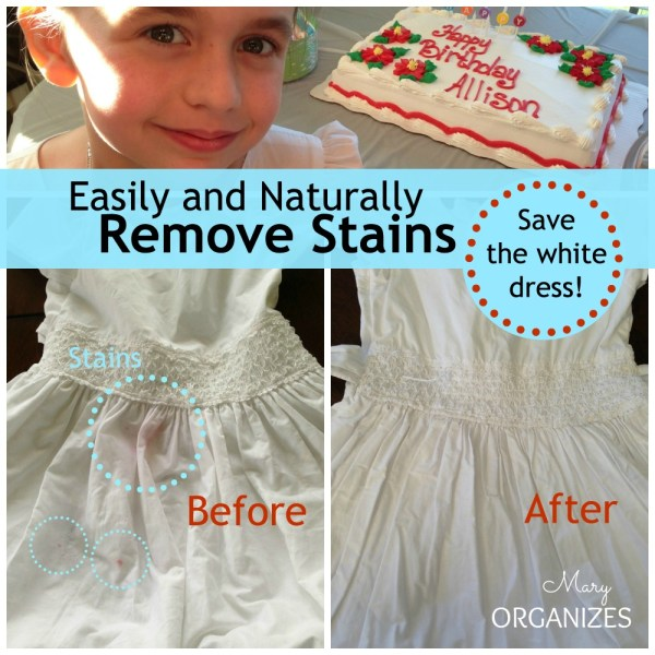 Easily and Naturally Remove Stains