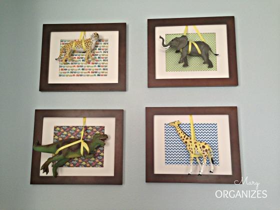 Wild Animals On Display ~~ Nursery Decor