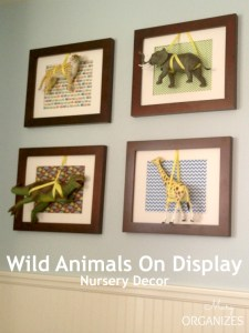 Wild Animals On Display ~ Nursery Decor Comes Alive