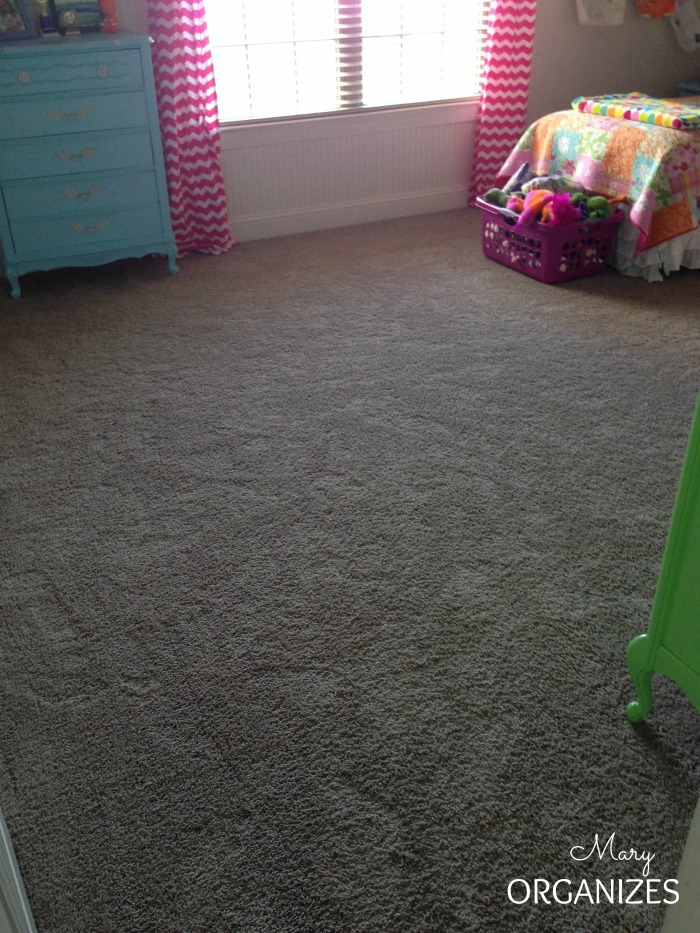 The most important part of any kids room is the empty space for kids to play