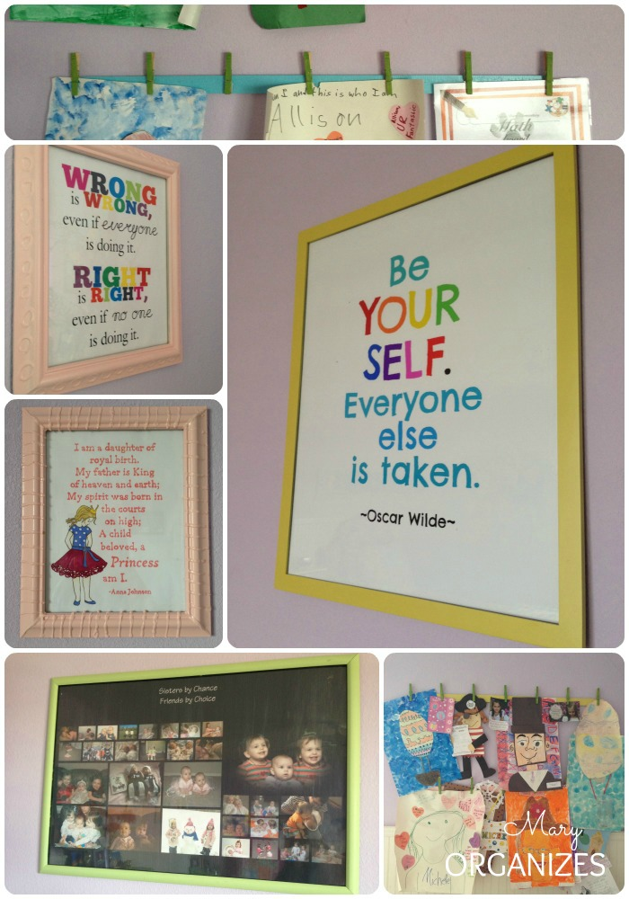 Wall Art in the Twins Room