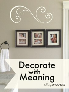 Decorate With Meaning