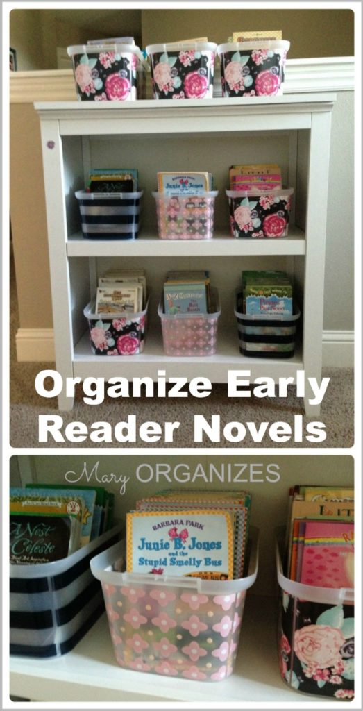 Organize Early Reader Novels