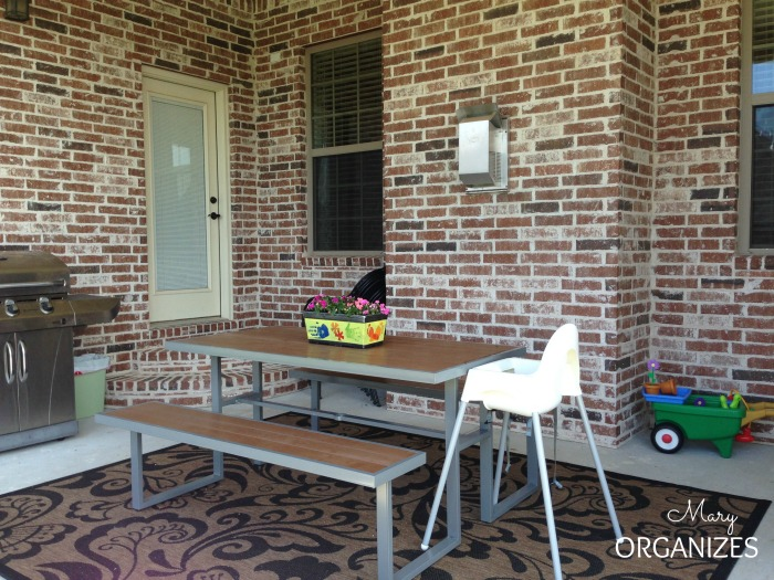For our family - the outdoor space has to be toddler-friendly