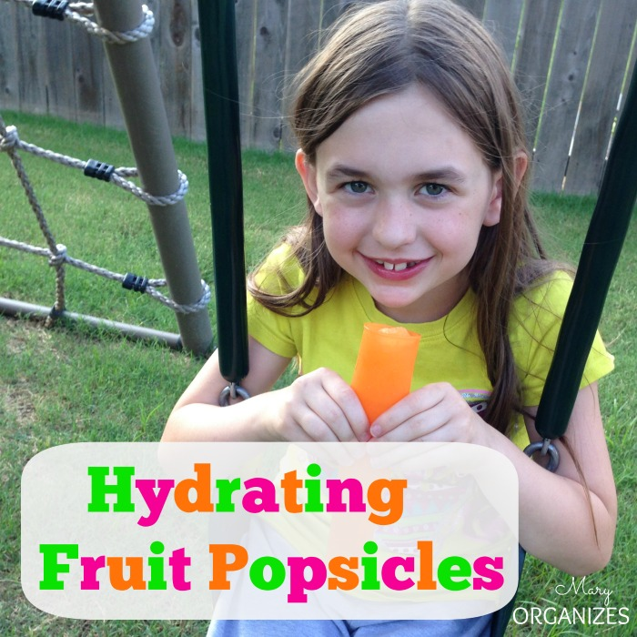 Hydrating Fruit Popsicles