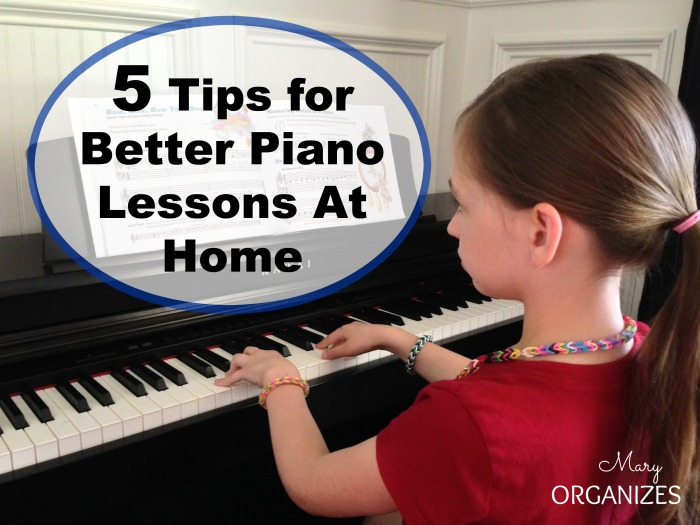 5 Tips for Better Piano Lessons At Home